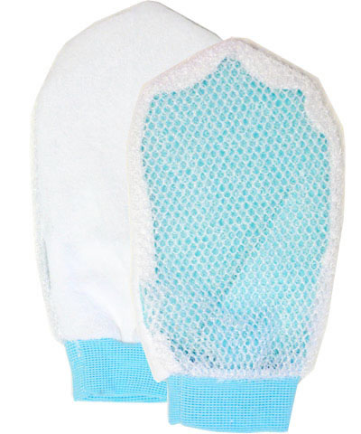 Exfoliating terry mitt *On Sale*